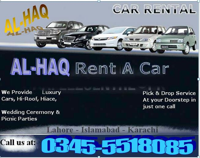 Al-Haq Enterprises and Rent a Car Islamabad Islamabad
