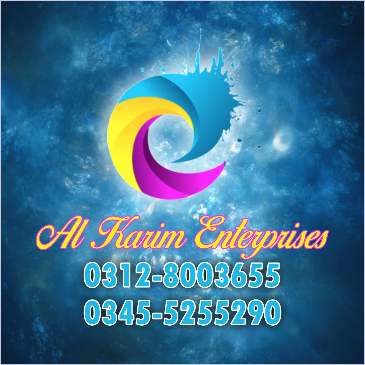 Al karim Enterprieses Blue Area Islamabad Printing and Property Company