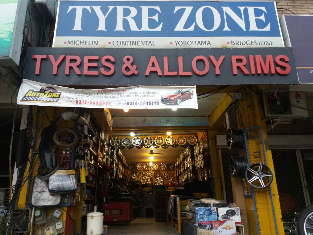 TYRE ZONE TYRES ND ALLOY WHEELS